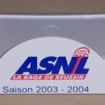 Support post it ASNL - Saison 2003-2004