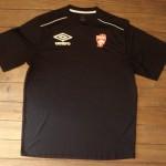 Tee shirt ASNL noir umbro 007