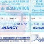 Billet Marseille-Nancy - Saison 1986-1987 - D1 (34e j., 09/05/1987)