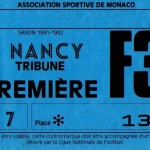 Billet Monaco-Nancy - Saison 1991-1992 - D1 (2e j., 27/07/1991)