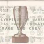 Billet Marseille-Nancy - Saison 1997-1998 Coupe de la Ligue (8e de finale, 31/01/1998)