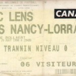 Billet Lens-Nancy - Saison 1998-1999 - D1 (4e j., 29/08/1998)