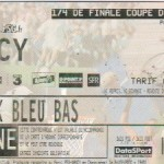 Billet Paris SG-Nancy - Saison 1999-2000 -  Coupe de la Ligue (1/4 de finale, 20/02/2000)