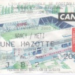Billet Nancy-Metz - Saison 1999-2000 - D1 (26e j., 16/02/2000)