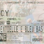 Billet Paris SG-Nancy - Saison 1999-2000 - D1 (27e j., 26/02/2000)