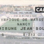 Billet Marseille-Nancy - Saison 1999-2000 - D1 (33e j., 04/05/2000)