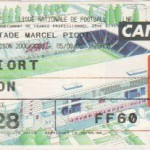 Billet Nancy-Niort - Saison 2000-2001 - D2 (8e j., 05/09/2000)