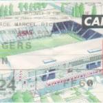Billet Nancy-Angers - Saison 2000-2001 - D2 (12e j., 30/09/2000)