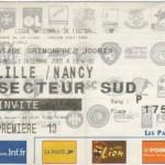 Billet Lille-Nancy - Saison 2001-2002 - Coupe de la Ligue (16e de finale, 01/12/2001)