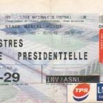 Billet Nancy-Istres - Saison 2001-2002 - D2 (25e j., 30/01/2002)