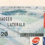 Billet Nancy-Ajaccio - Saison 2001-2002 - D2 (38e j., 03/05/2002)