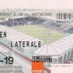 Billet Nancy-Caen - Saison 2002-2003 - L2 (3e j., 16/08/2002)