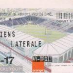 Billet Nancy-Amiens - Saison 2002-2003 - L2 (4e j., 25/08/2002)