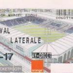 Billet Nancy-Laval - Saison 2002-2003 - L2 (6e j., 04/09/2002)