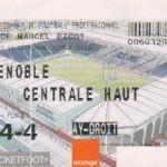 Billet Nancy-Grenoble - Saison 2002-2003 - L2 (8e j., 14/09/2002)