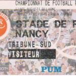 Billet Reims-Nancy - Saison 2002-2003 - L2 (13e j., 26/10/2002)