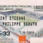 Billet Nancy-St-Étienne - Saison 2002-2003 - L2 (16e j., 17/11/2002))