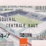 Billet Nancy-Wasquehal - Saison 2002-2003 - L2 (18e j., 04/12/2002)