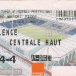Billet Nancy-Valence - Saison 2002-2003 - L2 (20e j., 18/02/2003)