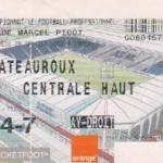 Billet Nancy-Châteauroux - Saison 2002-2003 - L2 (23e j., 29/01/2003)