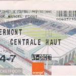 Billet Nancy-Clermont - Saison 2002-2003 - L2 (25e j., 05/02/2003)