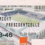 Billet Nancy-Lorient - Saison 2002-2003 - L2 (27e j., 21/02/2003, reporté)
