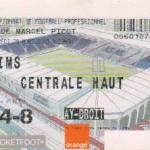 Billet Nancy-Reims - Saison 2002-2003 - L2 (31e j., 28/03/2003)