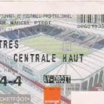 Billet Nancy-Istres - Saison 2002-2003 - L2 (33e j., 11/04/2003)