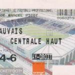 Billet Nancy-Beauvais - Saison 2002-2003 - L2 (37e j., 16/05/2003)