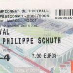 Billet Nancy-Laval - Saison 2003-2004 - L2 (15e j., 08/11/2003)