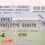 Billet Nancy-Clermont - Saison 2004-2005 - L2 (13e j., 22/10/2004)
