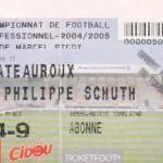 Billet Nancy-Chateauroux - Saison 2004-2005 - L2 (21e j., 16/01/2005)