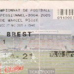 Billet Nancy-Brest - Saison 2004-2005 - L2 (38e j., 27/05/2005)