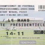 Billet Nancy-Le Mans - Saison 2005-2006 - L1 (15e j., 19/11/2005)