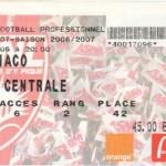 Billet Nancy-Monaco - Saison 2006-2007 - L1 (1re j., 05/08/2006)