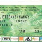 Billet St-Étienne-Nancy - Saison 2006-2007 - L1 (3e j., 19/08/2006)
