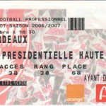Billet Nancy-Bordeaux - Saison 2006-2007 - L1 (12e j., 05/11/2006)