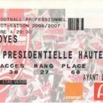 Billet Nancy-Troyes - Saison 2006-2007 - L1 (14e j., 18/11/2006)