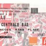Billet Nancy-Lille - Saison 2006-2007 - L1 (16e j., 03/12/2006)
