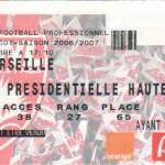 Billet Nancy-Marseille - Saison 2006-2007 - L1 (18e j., 16/12/2006)