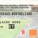 Billet Sochaux-Nancy - Saison 2006-2007 - L1 (19e j., 23/12/2006)