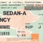 Billet Sedan-Nancy - Saison 2006-2007 - L1 (20e j., 13/01/2007)