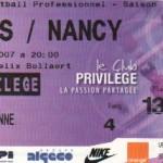 Billet Lens-Nancy - Saison 2006-2007 - L1 (26e j., 25/02/2007)