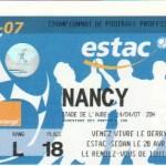Billet Troyes-Nancy - Saison 2006-2007 - L1 (32e j., 14/04/2007)