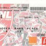 Billet Nancy-Nice - Saison 2006-2007 - L1 (35e j., 05/05/2007)