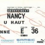Billet Rennes-Nancy - Saison 2007-2008 - L1 (1re j., 04/08/2007)