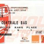 Billet Nancy-Caen - Saison 2007-2008 - L1 (2e j., 11/08/2007)