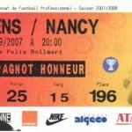 Billet Lens-Nancy - Saison 2007-2008 - L1 (8e j., 15/09/2007)