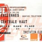 Billet Nancy-Valenciennes - Saison 2007-2008 - L1 (17e j., 08/12/2007)