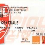 Billet Nancy-Lyon - Saison 2007-2008 - L1 (19e j., 22/12/2007)